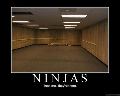 Funny Ninja Meme Ninjas Trust Me They Are There Picture