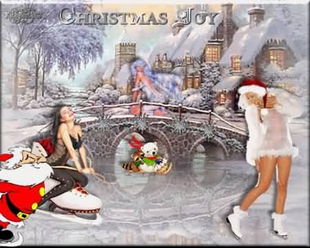 Funny Santa Gif