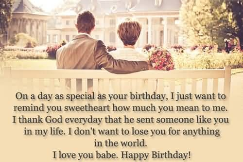 God Blessing Birthday Wishes For Someone Special