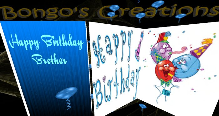 Great Brother Birthday Greeting Card Image Idea