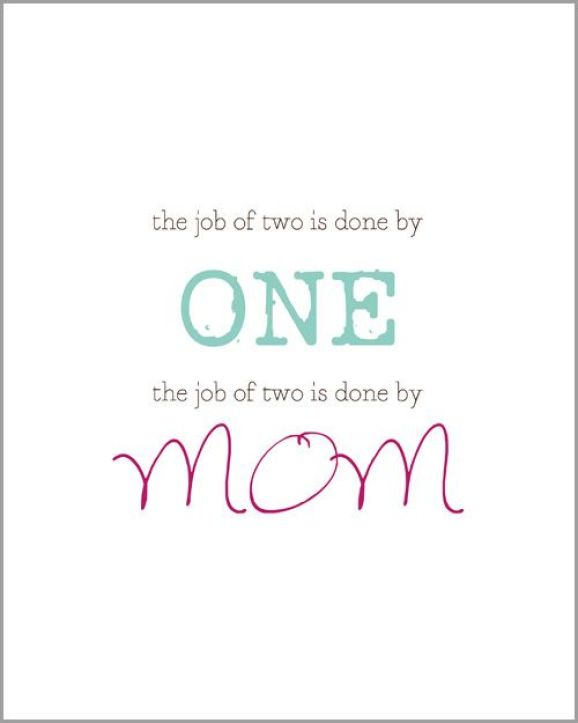 Great Mom Birthday Greeting Card