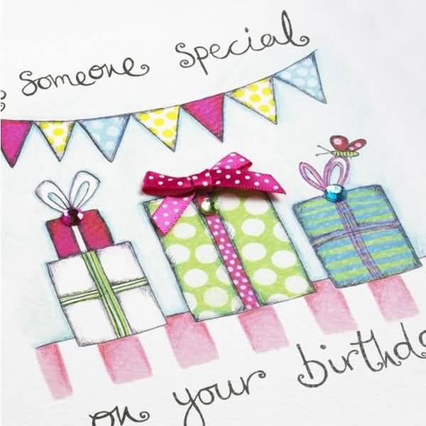 Handmade Card Birthday Wishes For Someone Special