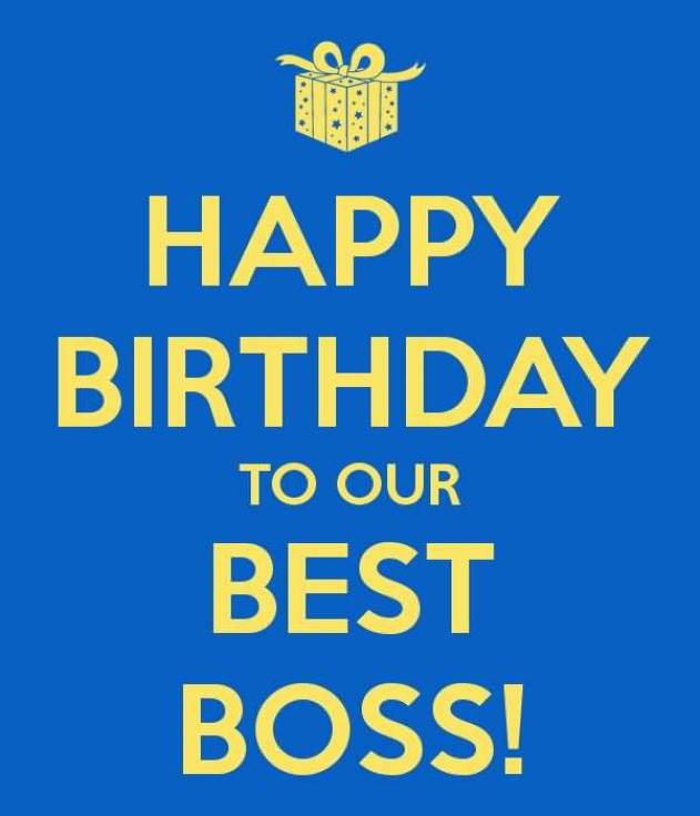 Happy Birthday Boss Wishes Image
