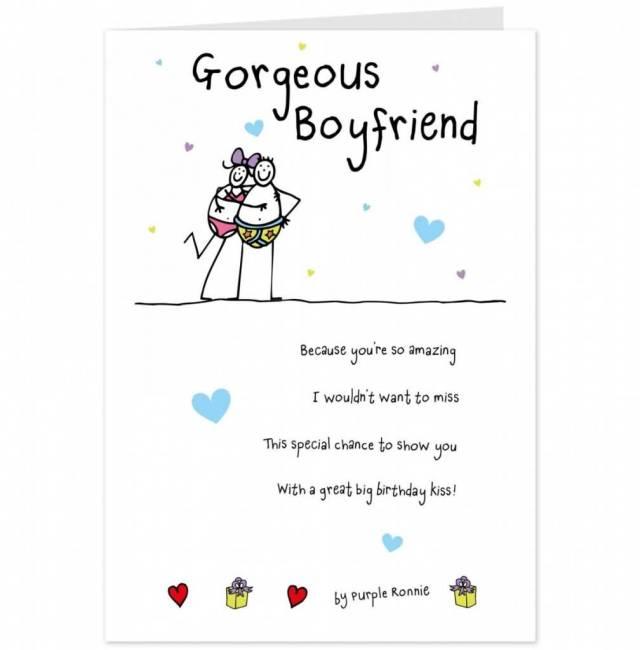 Happy Birthday Boyfriend Greeting E Card