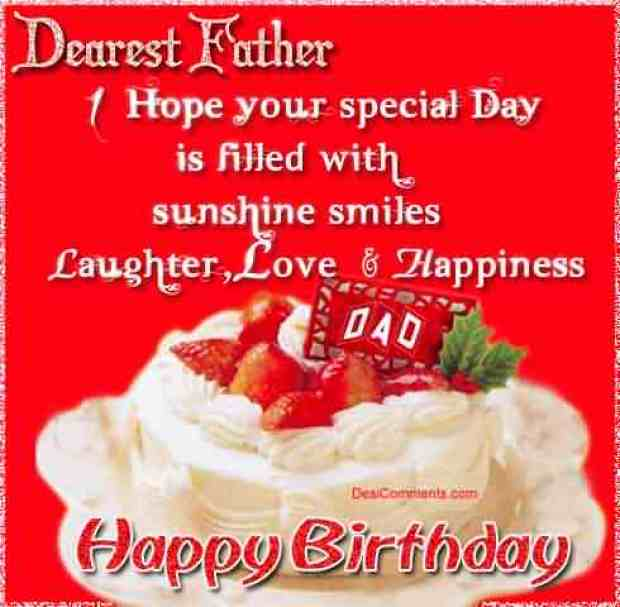Happy Birthday Dad You Are World's Best Dad