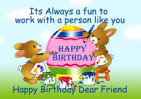 47 Wonderful Colleague Birthday Wishes Greetings Images – Birthday Card for Colleague