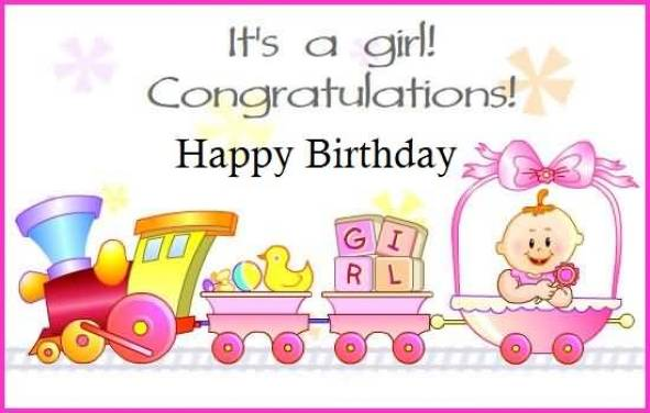 Happy Birthday Greetings For Sweet Little Baby Girl Baby Girl Birthday Greetings