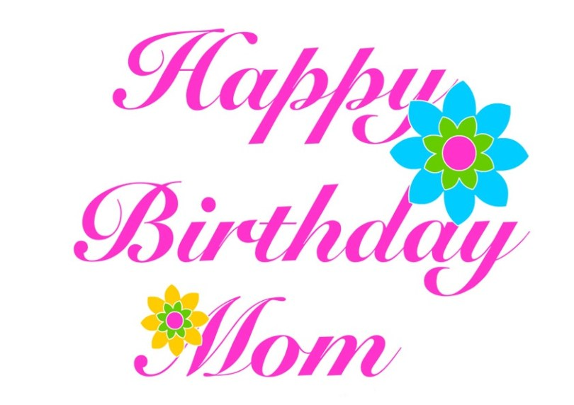 Happy Birthday Mom Nice Greeting Image