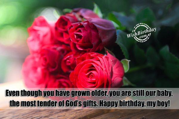 Happy Birthday My Boy Quotes Picture