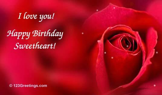 30 best birthday wishes for girlfriend from boyfriends - Happy birthday my love cards ...