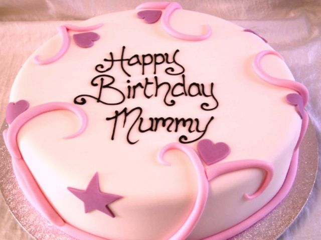 Happy Birthday Wihes To A Special Mum With Sweet Cake