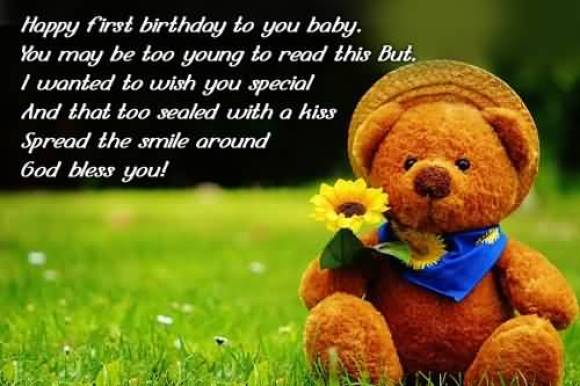 Happy Birthday Wishes Quotes For Sweet Little Baby Girl