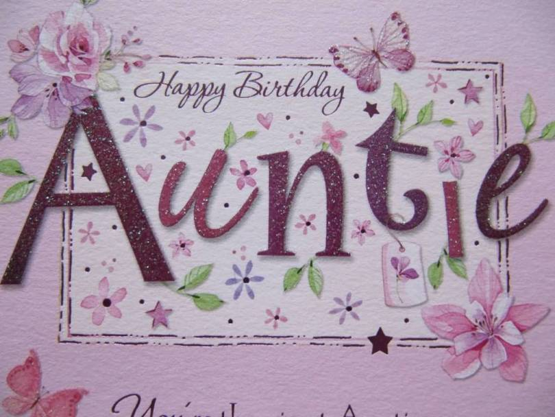 Happy Birthday Wishes To My Dear Aunt