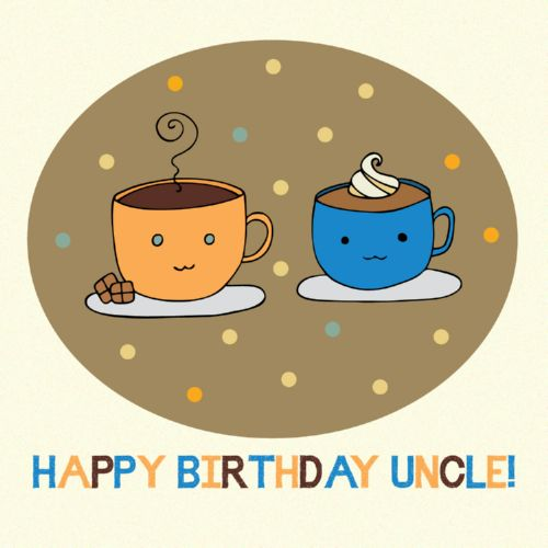 Happyy Birthday Uncle Greeting E Card