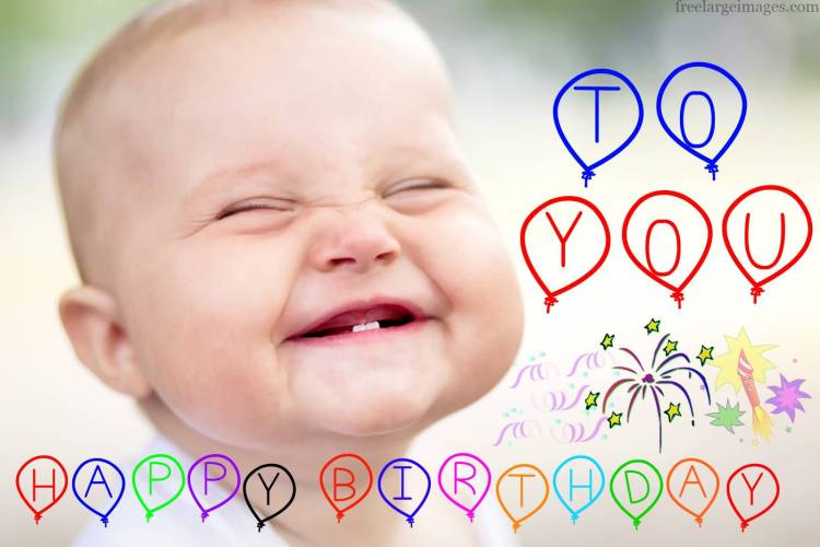 Have A Wonderful Birthday Brother Cute Little Boy Image