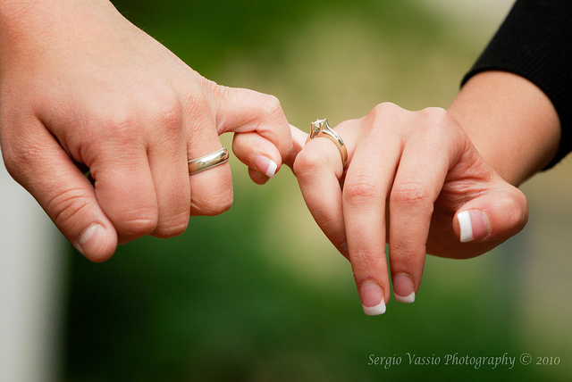 Holding Hands Engagement Image For Facebook