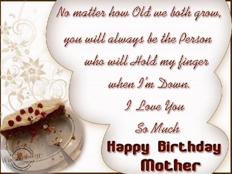 I Am So Glad You're My Mother Happy Birthday