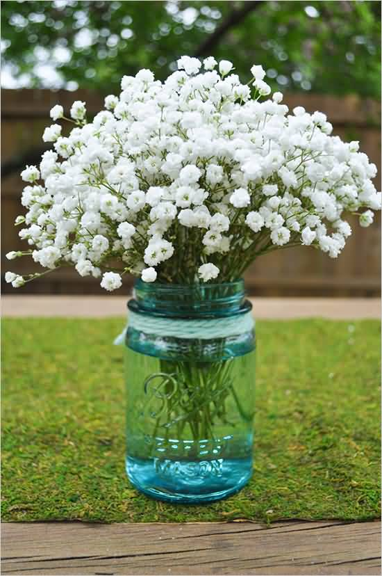 Mind Blowing White Baby's Breath Flower Bouquet For Decoration