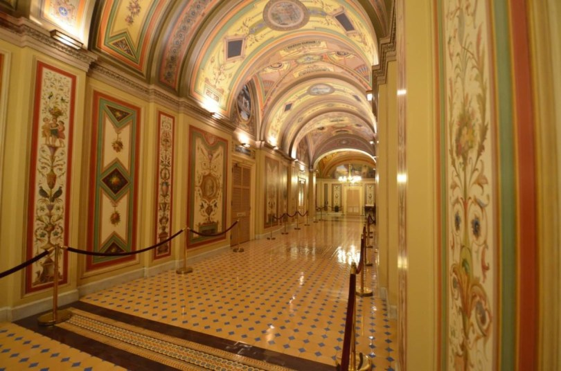 Most Beautiful Corridor Inside United States Capitol For Beautiful Wallpaper