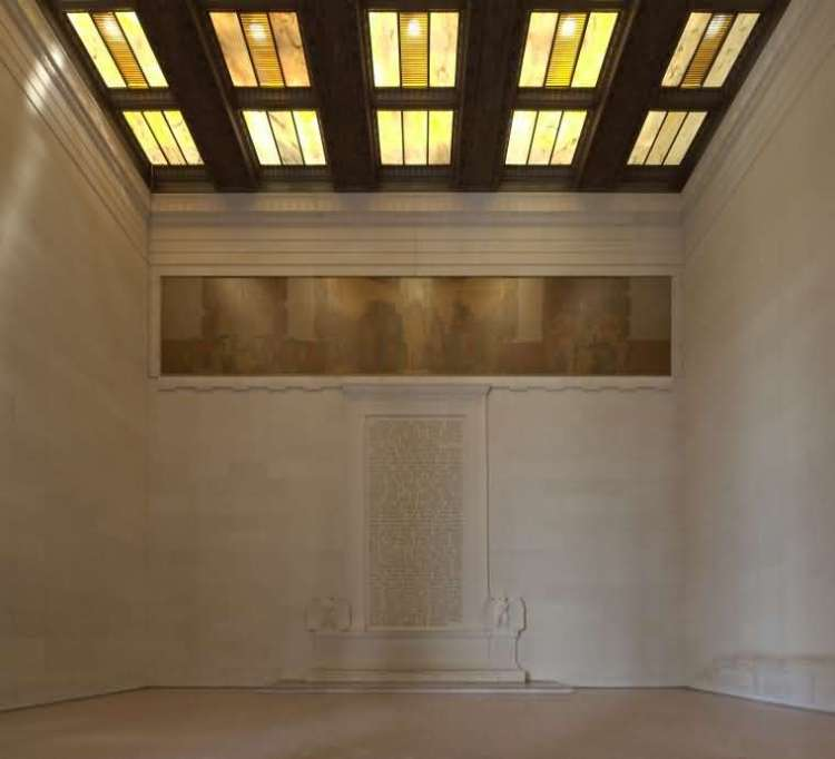 Most Beautiful North Wall On Quotes And Roof Architecture Inside The Lincoln Memorial