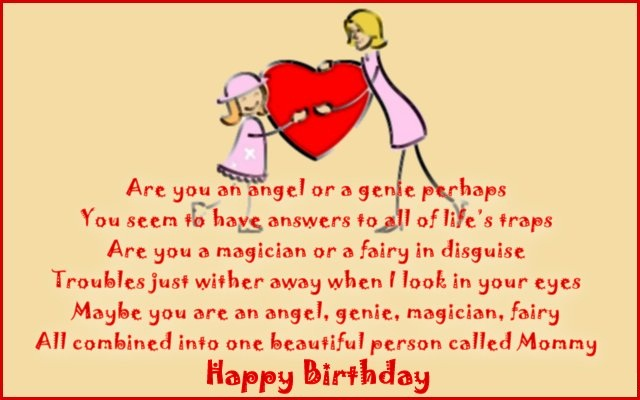 Mummy Happy Birthday Greeting & Quotes Image