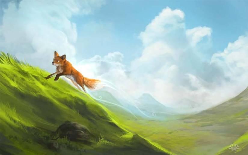 Not Real Brown Fox 4k Wallpaper