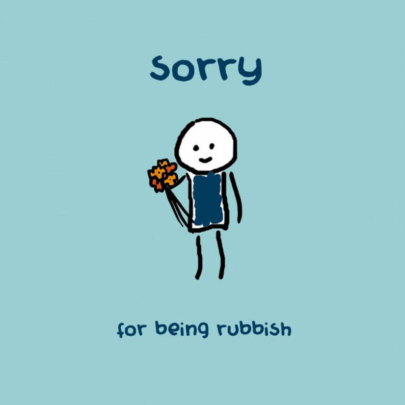 Sorry Greeting Card Image