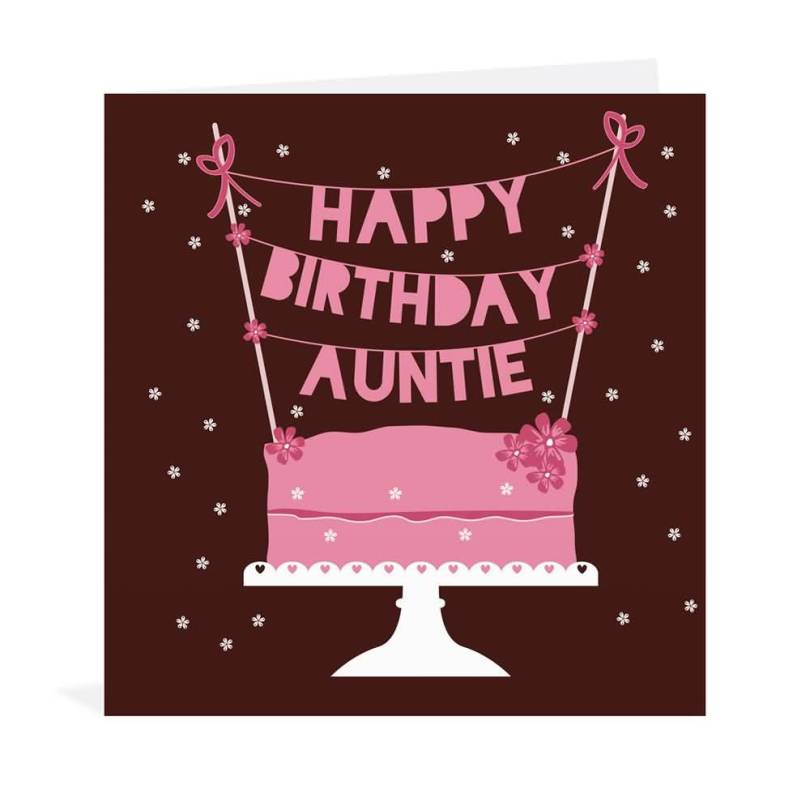 Special Greetings Card For Aunt