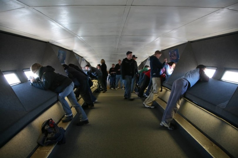 Stunning Observation Area Inside Gateway Arch Phtot