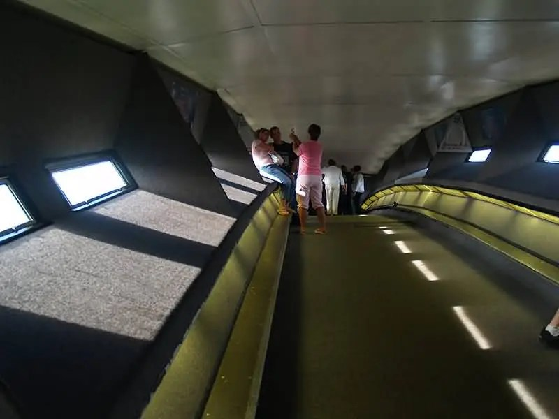 The Beautiful Gateway Arch Inside View
