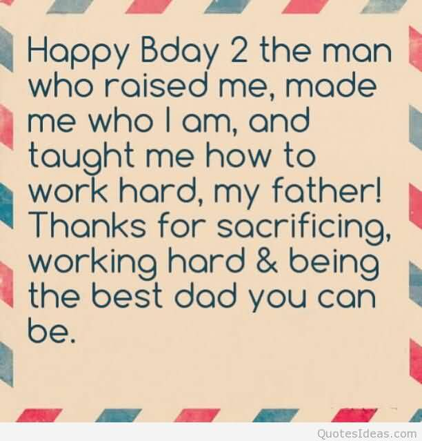 The Best Dad You Can Be Happy Birthday