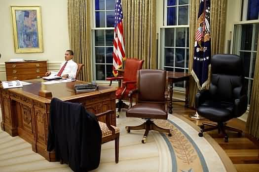 White House In Office Of President Obama