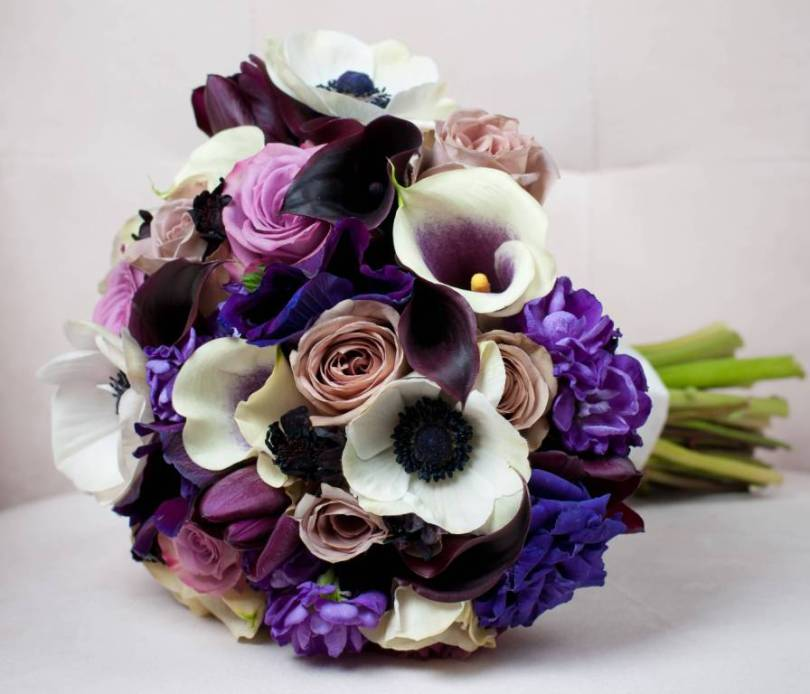 Unique Anemone Flower Bouquet For Door Decoration
