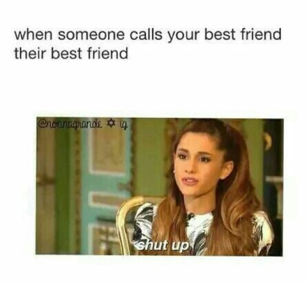 When Someone Calls Your Best Friend Their Best Friend