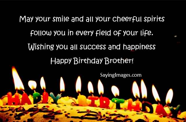 Wishing You All Success And Happiness Happy Birthday Boss Brother Happy Birthday Wishes