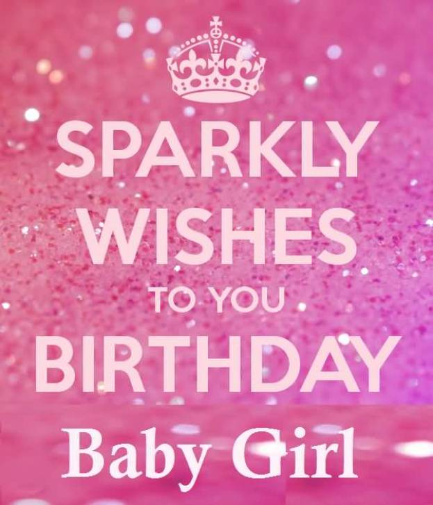 Wonderful Birthday Greetings For Special Baby Girl