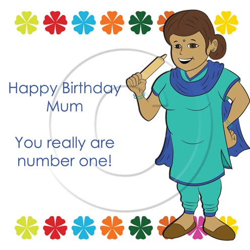 You Really Are Number One Happy Birthday Mum Image