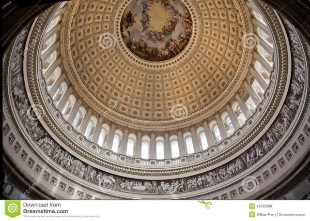 Cool United States Capitol Dome Inside View For Wallpaper