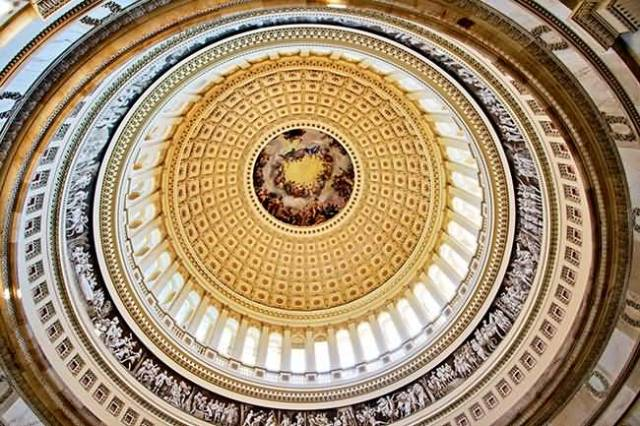 Fabulous Photo Of Dome Inside United States Capitol For Wallpaper
