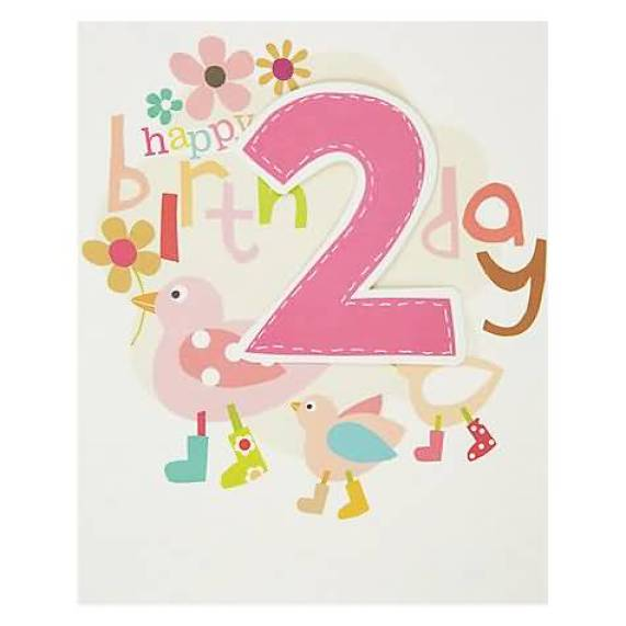 fantastic 2nd Birthday Wishes E Card
