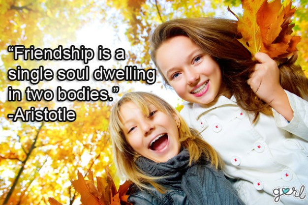 friendship is a single soul dwelling in two bodies. aristotle
