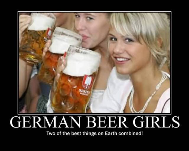 German Beer Girls Two Of The Things On Earth Combinated