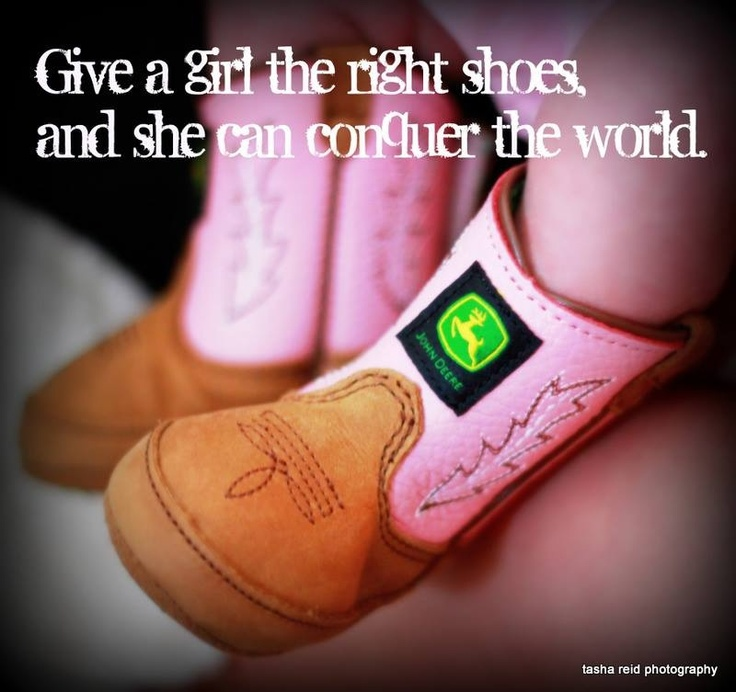 Give A Girl The Right Shoes And She Can Conque The World