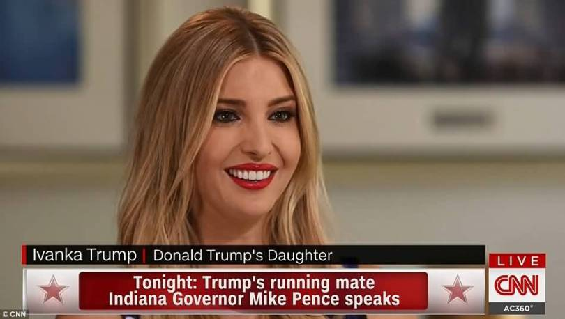 Gorgeous Donald Trumps Eldest Daughter Ivanka Trump Sat Down With Cnn