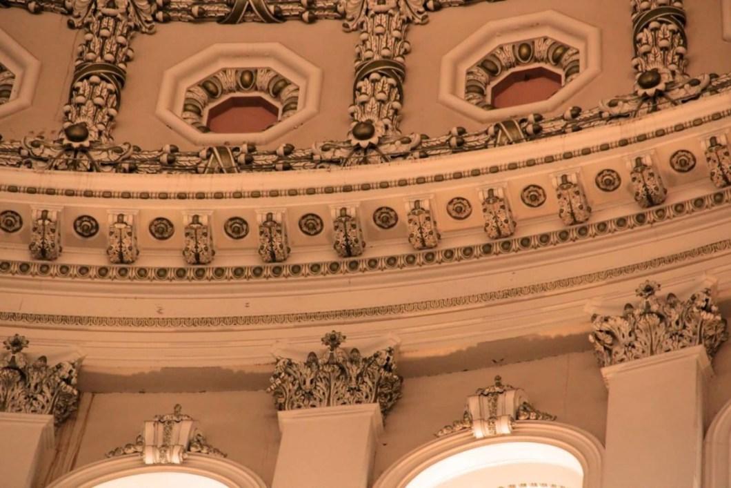 Impressive Art Inside The United States Capitol For Desktop Wallpaper