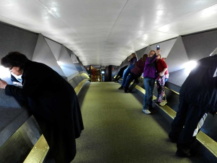 Impressive Observation Deck Inside The Gateway Arch Photo