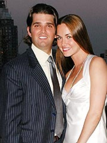 Juniour Trump With Wife