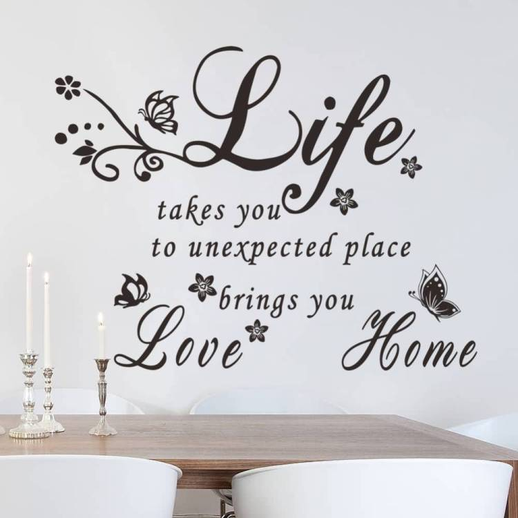 Life Takes You Unexpected Place Birngs You Love Home
