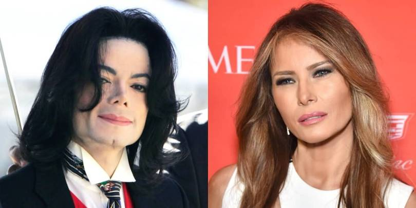 Michael Jackson Look Alike Melania Trump