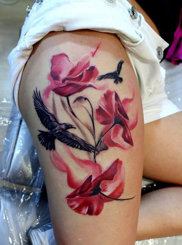 Most Amazing Thigh Tattoos For Women
